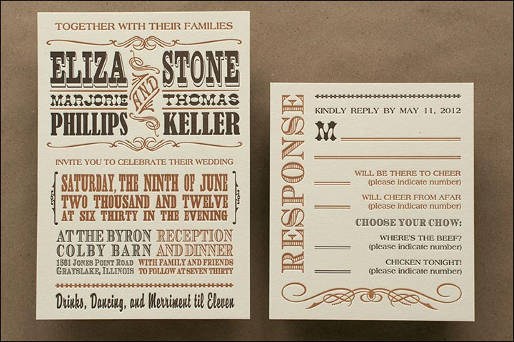 10 funny and inspiring informal wedding invitation wordings, Wedding invitations