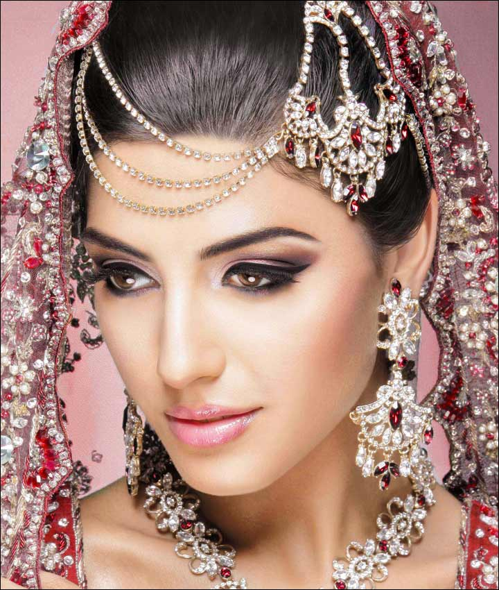 Bridal Makeup Looks The Dramatic Eye Look