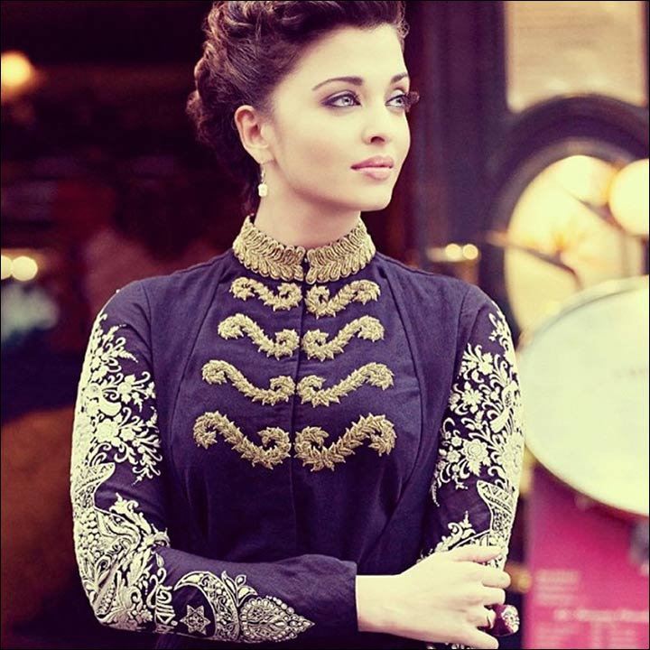 High Neck Blouse Designs - The Regal Beauty High Neck Blouse Design