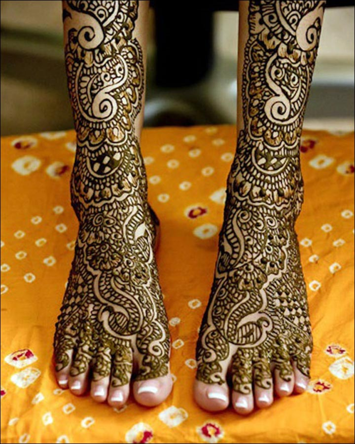 Pakistani Bridal Mehndi Designs - The beauty in detail