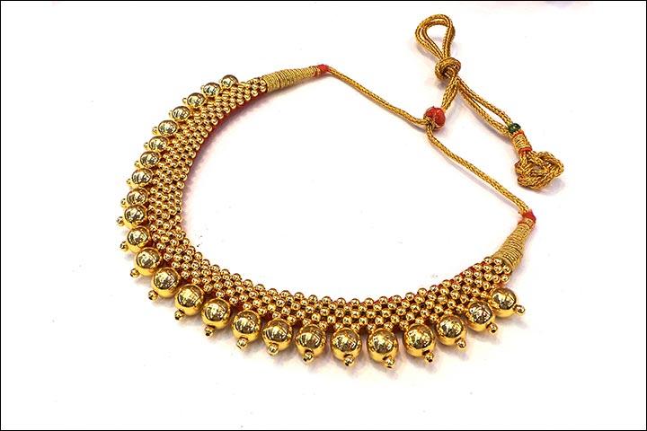 Maharashtrian Bridal Jewellery - Thushi
