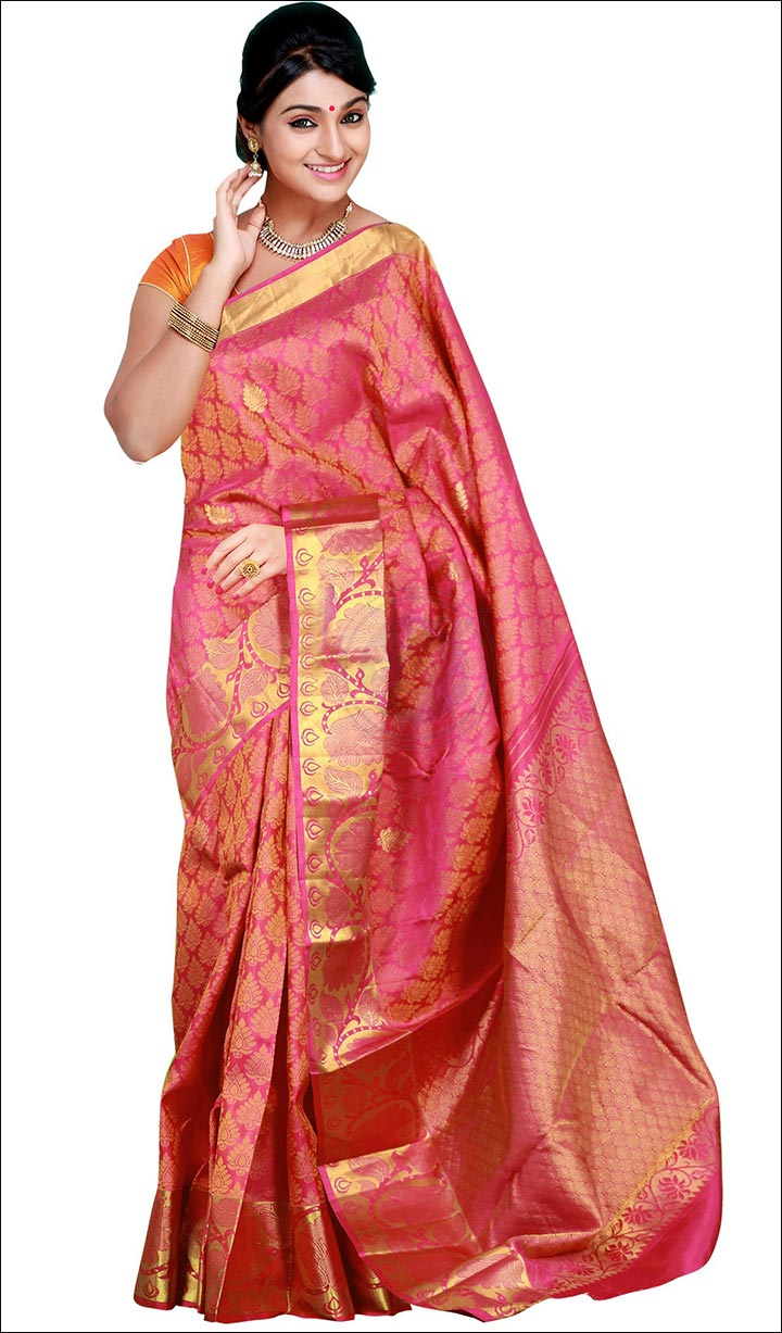 10 Beautiful Bridal Reception Sarees You Ll Fall In Love With