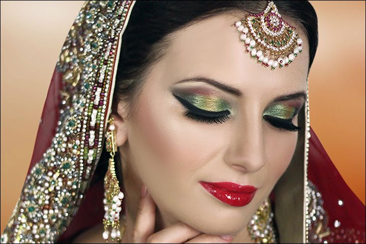 Bridal Makeup Looks - A Tropical Colour Crush