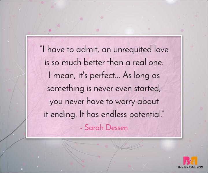 Unrequited Love Quotes - The Illusion