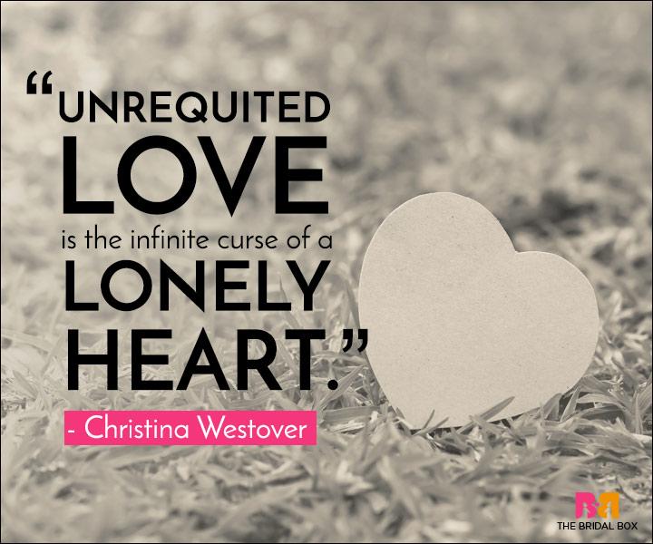 Unrequited Love Quotes - Cursed
