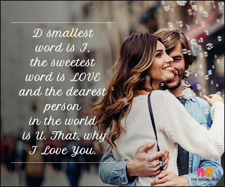 I Love You Sms - That's Why