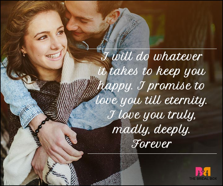 I Love You Sms - Truly Madly Deeply