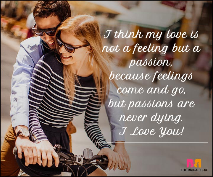 I Love You Sms - My Love Is A Passion