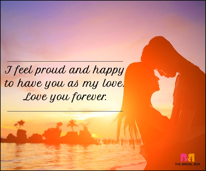 I Love You Sms - Proud And Happy