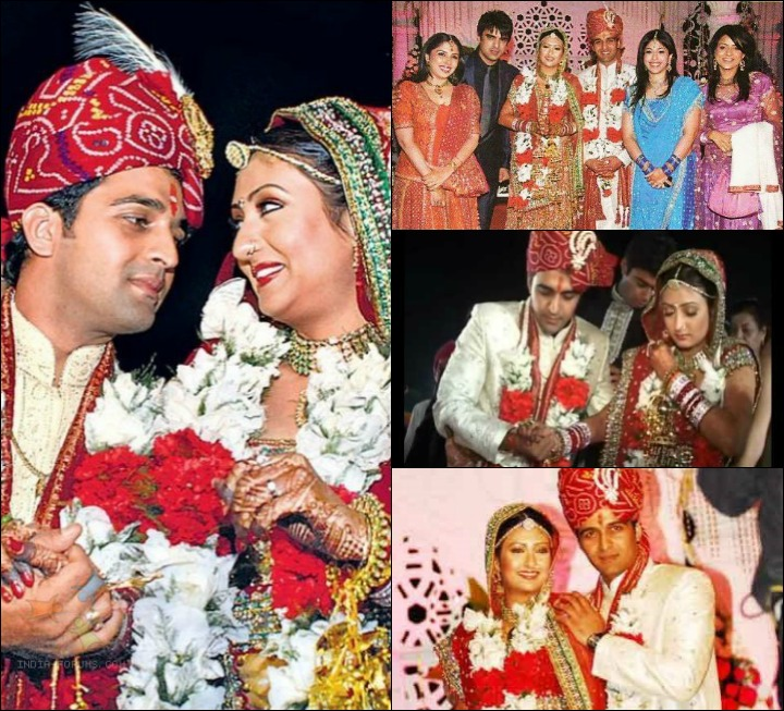 Sachin Shroff And Juhi Parmar At Their Famous Wedding
