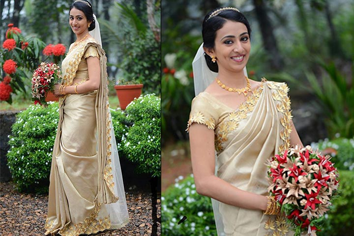 2082c1bf260 Kerala Wedding Sarees  16 Saree You ll Want To Steal
