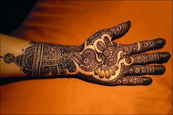 Punjabi Mehndi Designs - Peacock Art