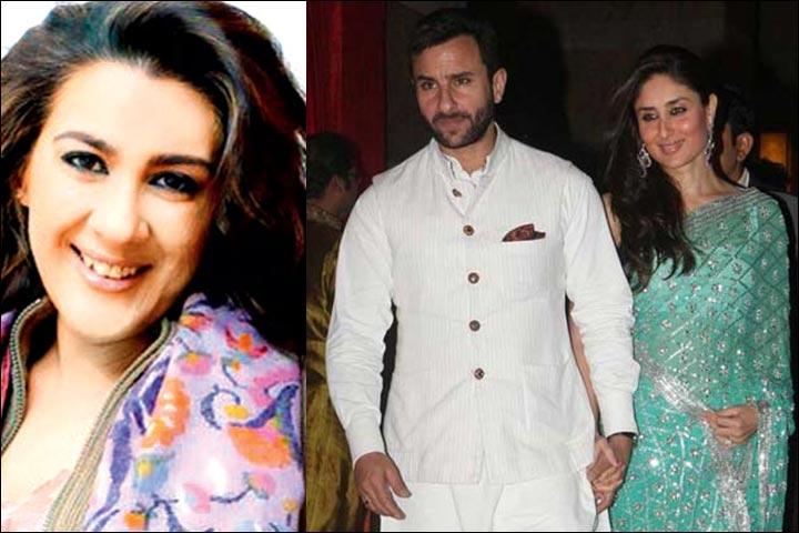 Saif Ali Khan With Kareena Kapoor At Genelia D'Souza and Riteish Deshmukh's Marriage And Amrita Singh Inset