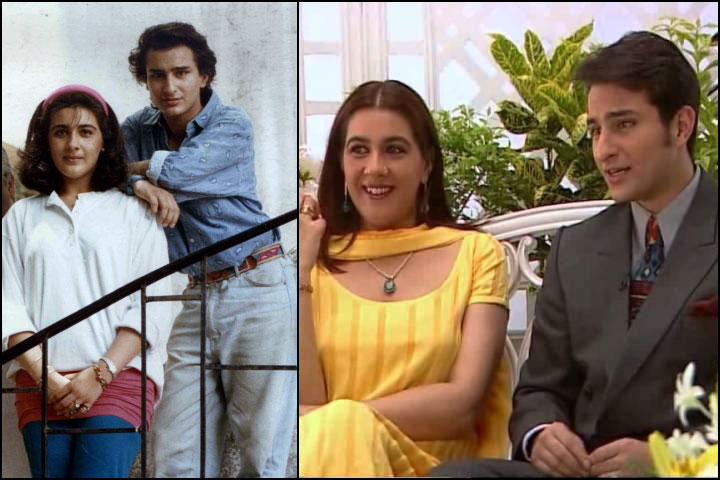 Saif Ali Khan And Amrita Singh Back In The 90s For A Shoot And Inset On The Simi Garewal Show