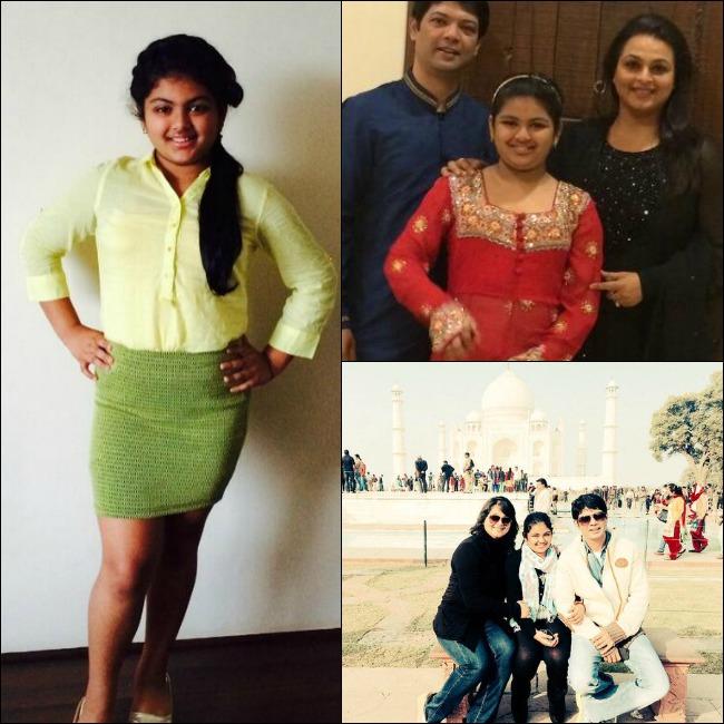 Shilpa Shirodkar And Apresh Ranjit With Their Daughter Anushka