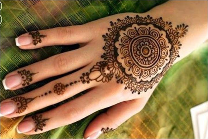 Mehndi Designs Circular : Stunning pakistani bridal mehndi designs you can t miss