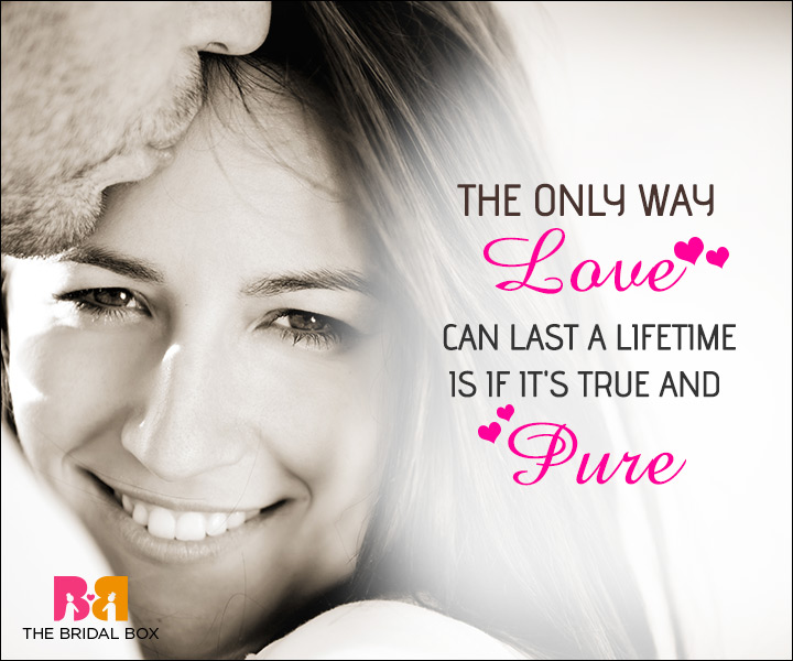 Unconditional Love Quotes - The Only Way