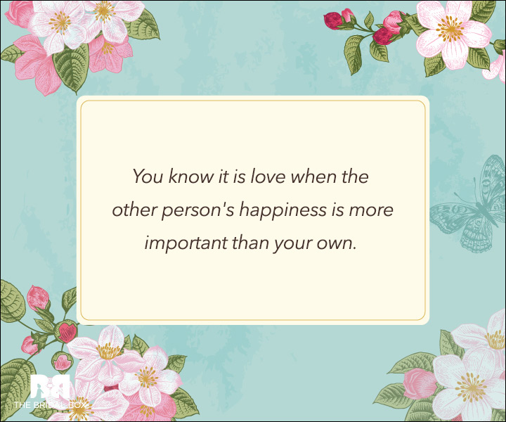 Unconditional Love Quotes - You Know It's Love