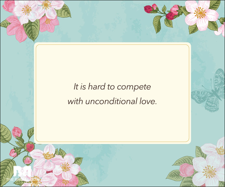 Unconditional Love Quotes - No Competition