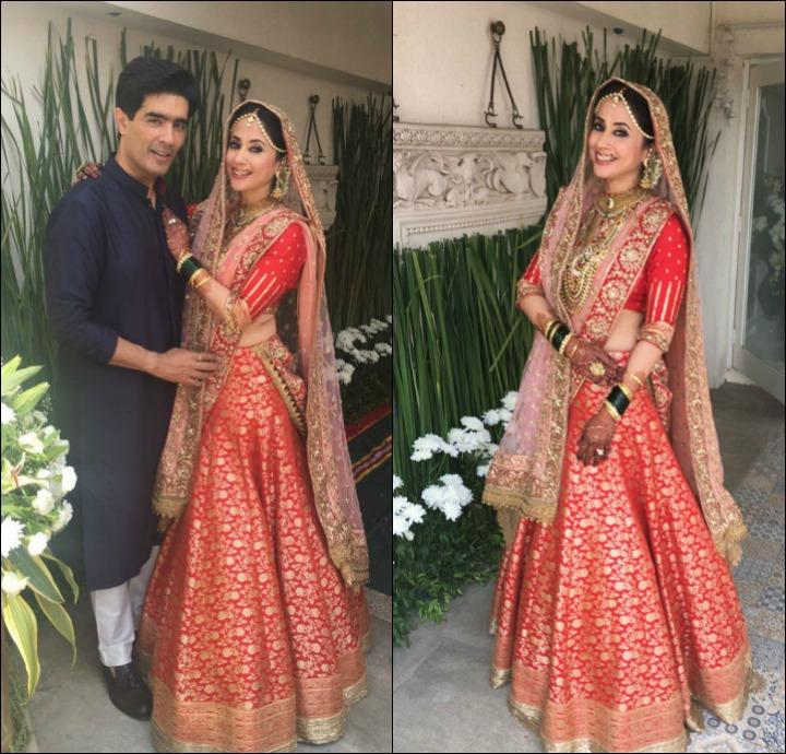 Urmila Matondkar Marriage - Manish Malhotra Design