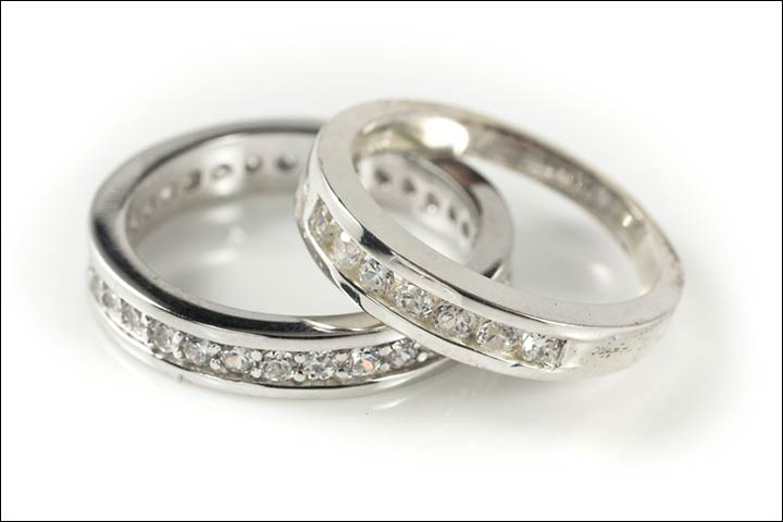 Engagement Rings For Couples - Aligned, Not Matching