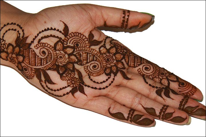 Mehndi Flower Image : Dubai mehndi designs that will leave you captivated