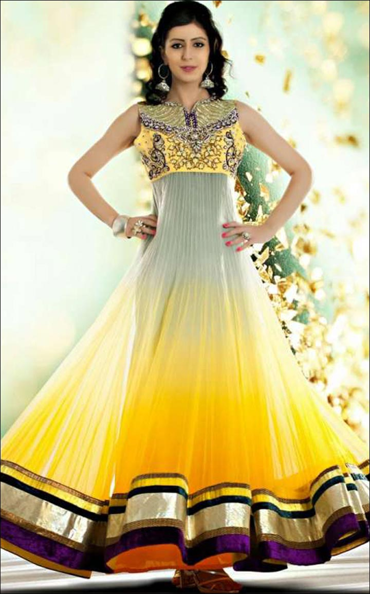 Indian Wedding Dresses - Anarkali