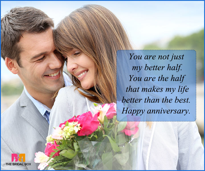 Love Quotes For Husband On Anniversary - My Better Half