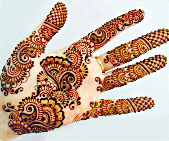 Arabic Mehndi For Palm : Palm mehndi designs from simple to stunning