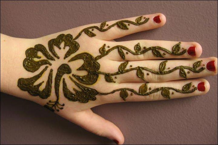 Simple Mehandi Designs - Artsy Design