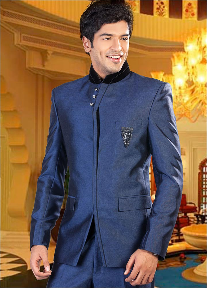 Indian Groom Dress Options - Bandhgala Suit