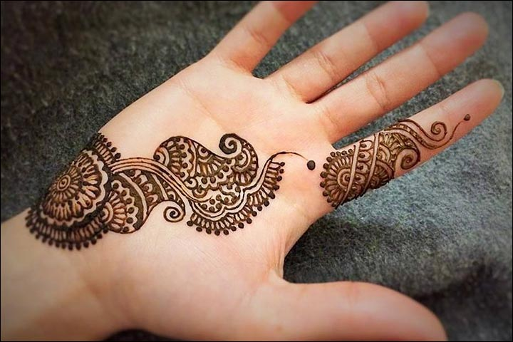 Single Line Mehndi Designs 10 Best Simple One Line Mehndi