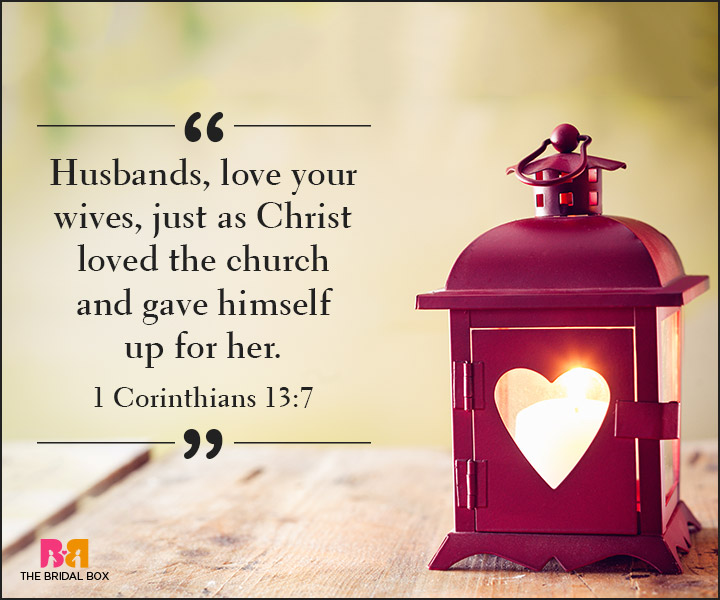 Bible Quotes On Love - I Corinthians 13:7
