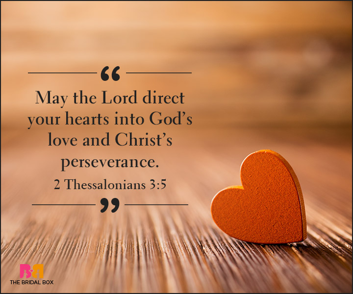 Bible Quotes On Love - 2 Thessalonians 3:5