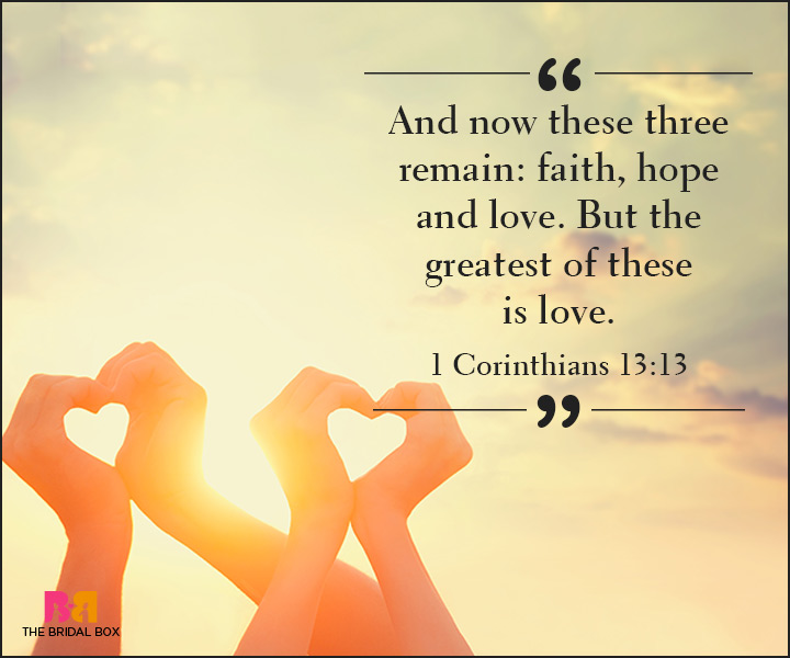 Corinthians Love Quotes Gorgeous 25 Divinely Meaningful Bible Quotes On Love