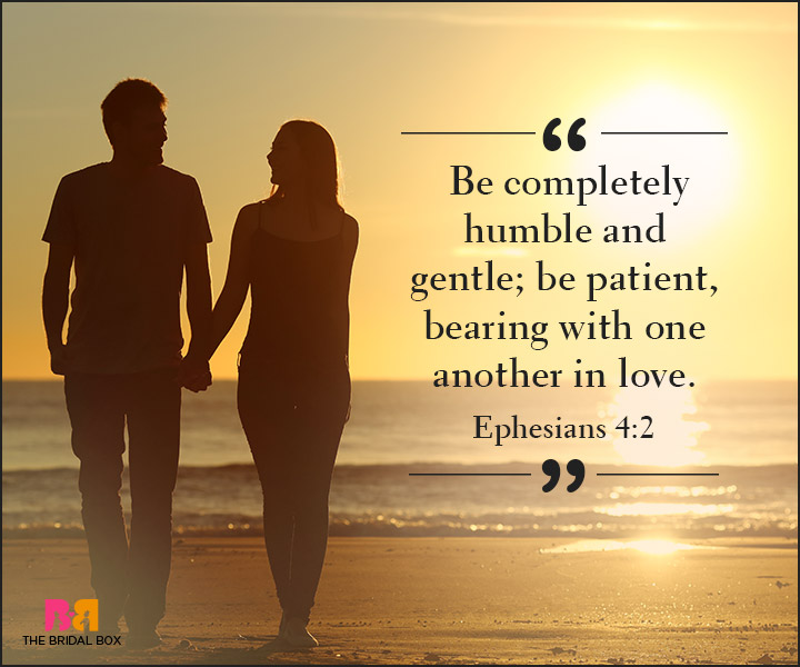 Bible Quotes On Love   Ephesians 4:2