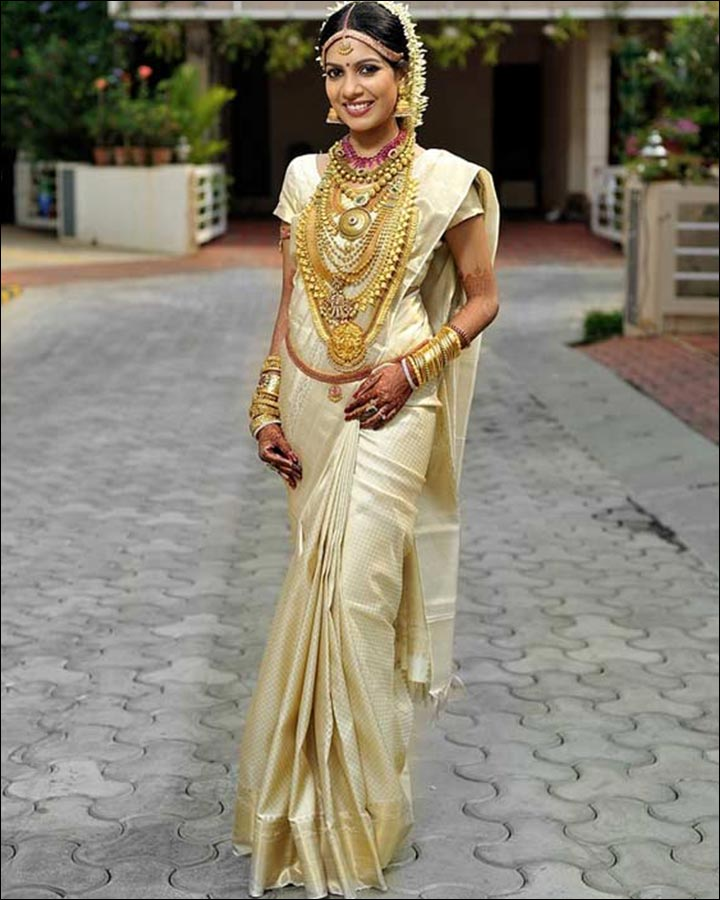 Indian Wedding Dresses - Classic South Indian Bride