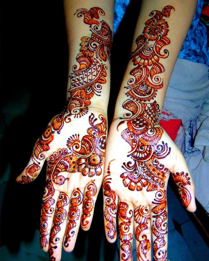Indian Mehndi Designs - Considerably Colourful