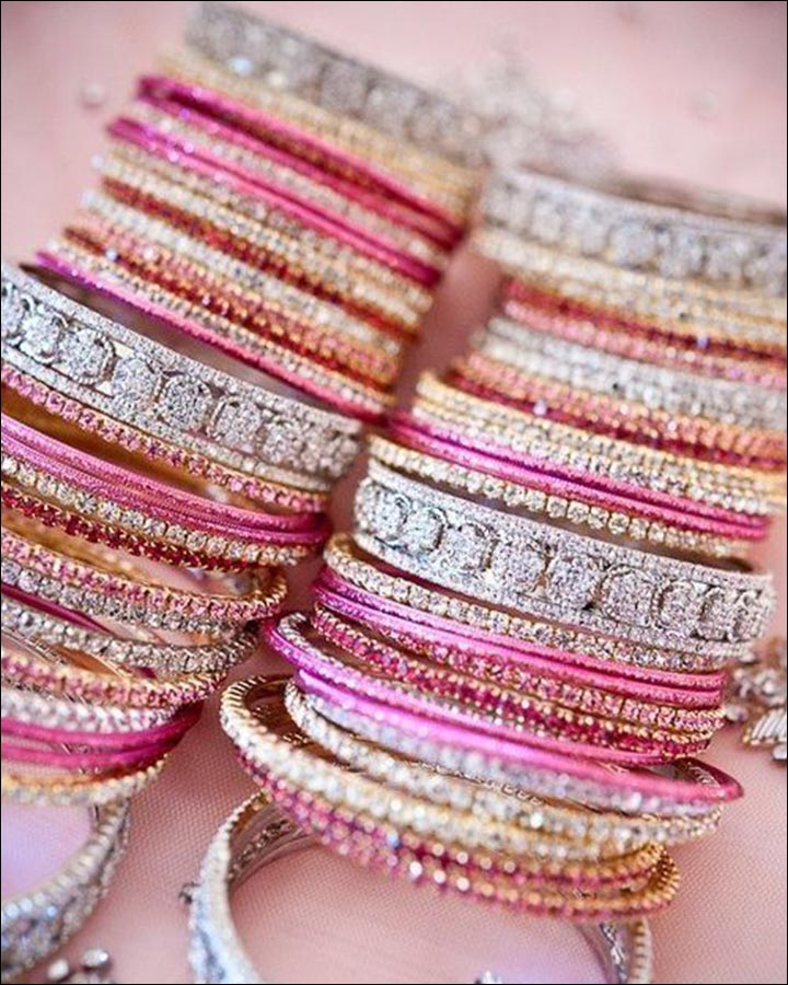Bridal Bangles - The Crystal Touch
