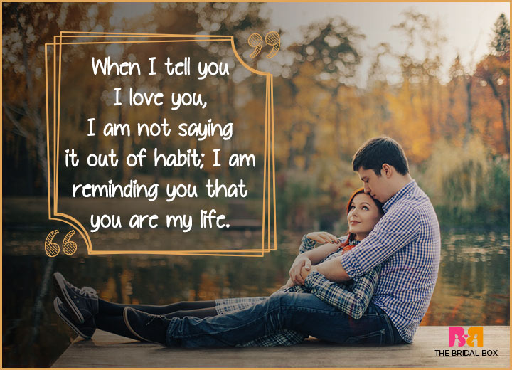 Cute Love Quotes - Reminding You