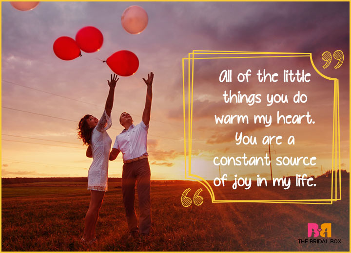Cute Love Quotes - You Warm My Heart