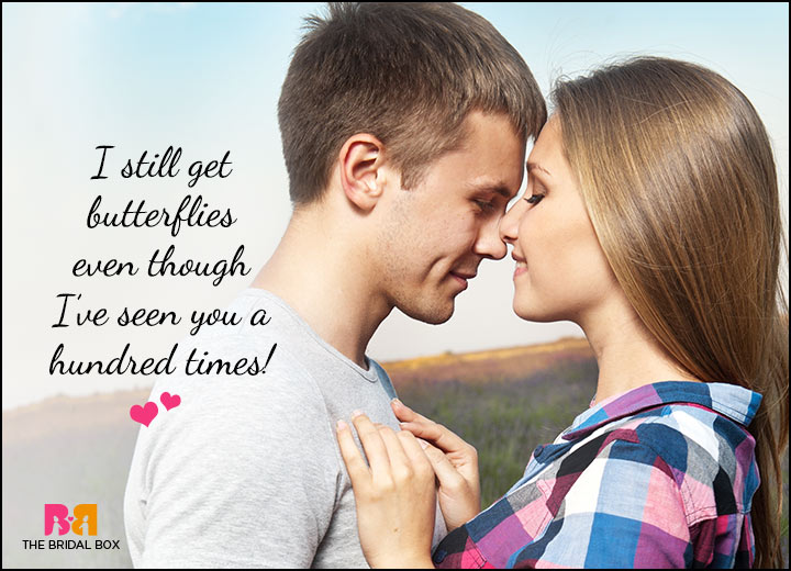 Cute Love Quotes For Him - Butterflies