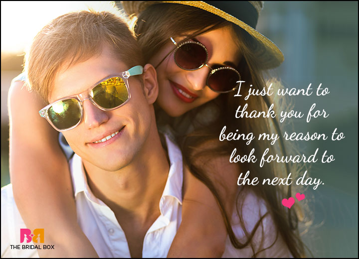 Cute Love Quotes For Him - I Look Forward To This