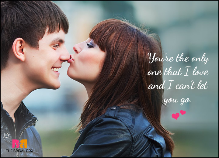 Cute Love Quotes For Him   The Only One