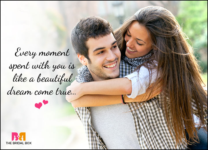 Cute Love Quotes For Him - A Beautiful Dream Come True