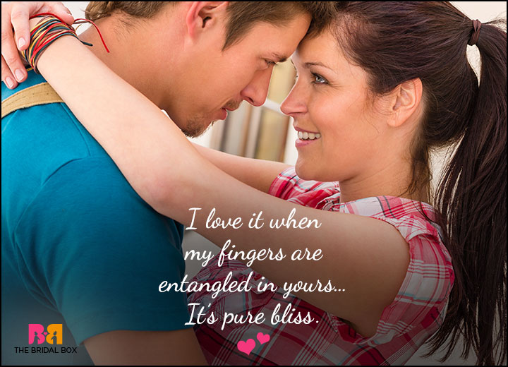 Cute Love Quotes For Him - Pure Bliss