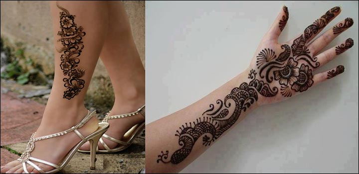 Simple Mehandi Designs - Design For The Modern Day Diva