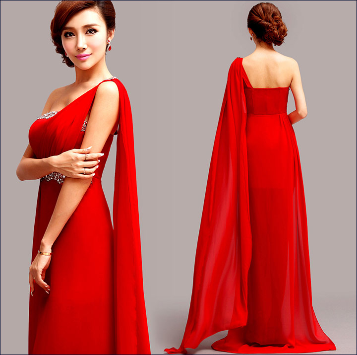 Red Short Wedding Dresses: 10 Ravishing Bridal Ideals For The Red Gown For Wedding
