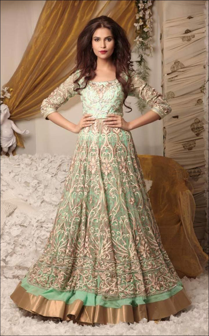 Indian wedding designer dress wedding dress collections for Trendy dresses to wear to a wedding