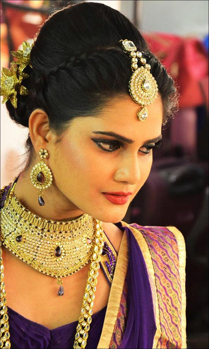 indian hair style bridal front hairstyle hairstyle ideas 2936